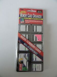 Pioneer 10 Compartment Memory Card Organizer with Labels.