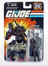 Hasbro Gi Joe 25th Anniversary Commando Snake Eyes Action Figure - 25178