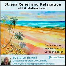 Stress Relief & Deep Relaxation with Guided Meditation Audio CD NOW @1/2 PRICE