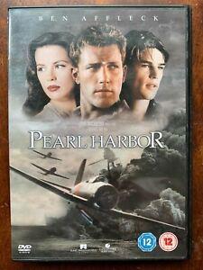 Pearl Harbour DVD 2001 Ben Affleck World War II Harbor Movie 1-Disc