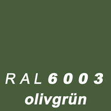 1 kg 1K Kunstharzlack KH Lack RAL 6003 olivgrün glänzend Mattierung möglich