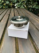 NEW Thiers-Issard Polished Stainless Steel Shaving Bowl With Cover BWLSS