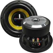 """NEW American Bass 8"""" Competition Woofer 800W max 4 Ohm DVC VFL8D4"""