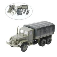 1:72 1/4 TON MILITARY JEEPS IN PLASTIC DISPLAY CASE 3 CAR SET DECORATION