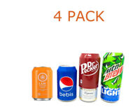 Beer can covers 4 pack silicone beverage sleeve hide a beer that look like soda