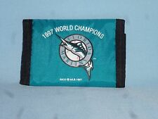 FLORIDA MARLINS 1997 World Series Champions   Nylon TriFold WALLET Set of 3  NEW