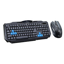 2.4GHz Wireless Gaming Keyboard & Mouse Bundle Set For Desktop Laptop Pro Gamer