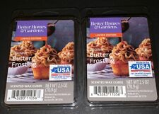 Better Homes & Gardens Scented Wax Cubes BROWN BUTTER FROSTING / 2 Packs