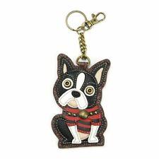 Chala - Boston Terrier - Key Fob / Coin Purse