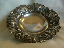 OLD / VINTAGE PERSIAN 84 SILVER BOWL ON 3 FEET - 131 grams