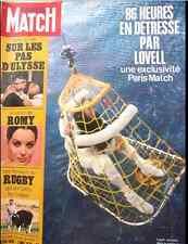 PARIS MATCH Apollo Lovell Schneider Rohart Rugby Ulysse