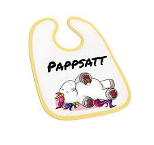 Pappsatt Einhorn - Babylätzchen, Babylatz, lustig