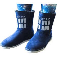 Doctor Who - TARDIS Female Boot Slippers