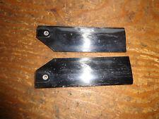 Fibra de Carbono 75 mm hojas de rotor de cola traje Vintage Heli