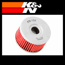 K&N Oil Filter Powersports Motorcycle Oil Filter - Fits Suzuki - KN-137