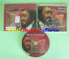 CD LUCIANO PAVAROTTI Merry christmas canzoni natale SAIFAM (Xi2) no lp mc dvd