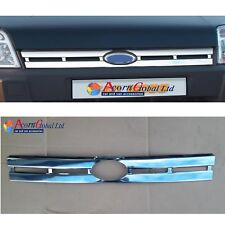 FORD TRANSIT CONNECT VAN / TOURNEO FRONT CHROME GRILL STAINLESS STEEL (2006-09)