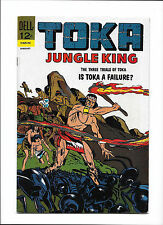 "TOKA #10  [1967 FN+]  ANTS COVER!  ""THE THREE TRIALS OF TOKA"""
