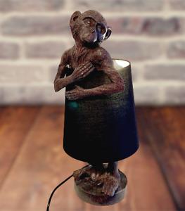 Krass Verrückt selten Tischlampe Affe Monkey Lampe Leuchte Tischleuchte Geschenk