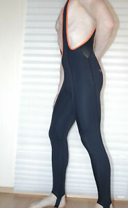 Velobici Men's Bib Road Cycling unpadded tights Size Medium Made in UK