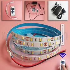 5M 5630 LED Strip Light 300LEDs Non Waterproof Indoor 12V Power Supply Dimmer
