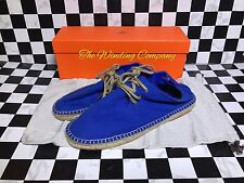 Hermes Espadrilles Men's Summer Shoes Canvas Absolutely Gorgeous. Size 43 Or 10