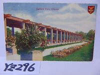 VINTAGE POSTED POSTCARD STAMP 1912 I WILL-GARFIELD PARK-CHICAGO ILLINOIS IL.