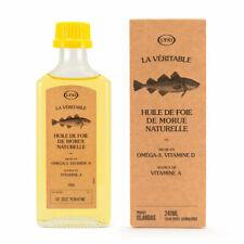 Lysi - Huile de foie de morue naturelle - Oméga 3 et vitamine D - 240ml