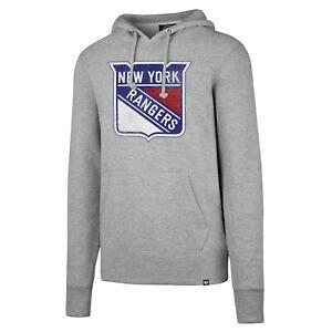 NHL Hoody New York Rangers Knockaround Hooded Pullover Hooded Sweater Jumper