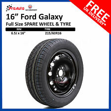 "Ford Galaxy 2006-2015 16"" FULL SIZE STEEL SPARE WHEEL & TYRE 215/60R16"