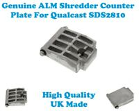 QUALCAST SDS2810 GENUINE ALM SHREDDER COUNTER PLATE QT178