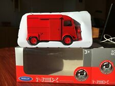 Red rouge Citroen Type H HY France Modellauto model car Welly diecast 1:40 toys