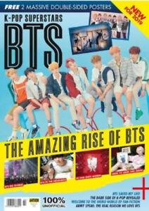 K-Pop Superstars BTS 84 page glossy UK magazine - Volume 2