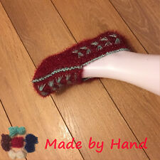 Ladies Shiny Bright Lurex Handmade Winter Warm Qualify Knitting Socks