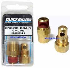 Genuine MerCruiser Manifold & Engine Block Drain Plug Kit - 22-16951Q1