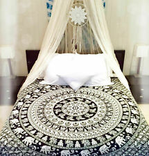 Indian Hippie Queen Tapestry Mandala Bohemian Wall Hanging Bedspread Dorm Throw
