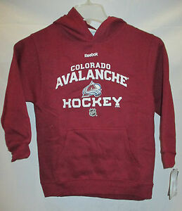 Colorado Avalanche NHL Youth Hooded Sweatshirt, 3 Colors