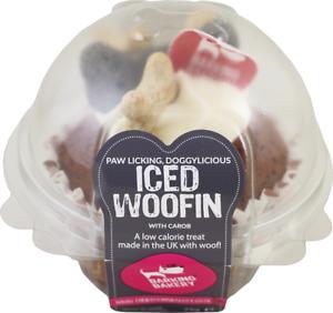 **LOW PRICE** BARKING BAKERY ICED DOG / PUPPY WOOFIN!! BIRTHDAY, TREAT, REWARD.