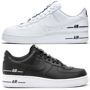 Nike Air Force 1 uomo 07 LV83 Bianco Nero scarpe sportive basse 41 42 44 45