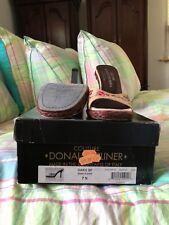 ladies donald j pliner slides excellent condition size 7