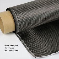 3K 200gsm Full Carbon Fiber Fabric Plain Weave Carbon Fibre Cloth 10cm 1 meter
