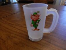 St. Patrick's Day Plastic Super Mug with Leprec