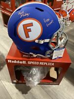 KYLE PITTS SIGNED AUTOGRAPHED FLORIDA GATOR Full Size HELMET Replica Beckett BAS
