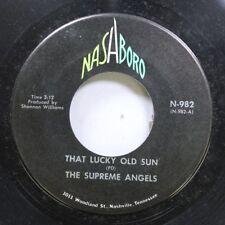 Black Gospel Soul 45 The Supreme Angels - May The Work I'Ve Done Speak For Me