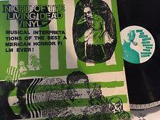 Night of the Living Dead Vinyl LP Decembers Zipcode Rapists The Frogs Motherhips