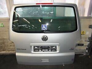 HECKKLAPPE HECKTÜR KOMPLETT VW T5 MULTIVAN FACELIFT SILBER METALLIC LA7W 2009-