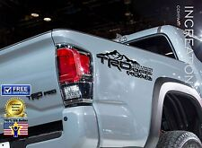 Compatible With Toyota Tacoma Tundra TRD Decals Vinyl Stickers off road graphics