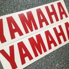 Yamaha RED 8in 20.3cm decal decals stickers yz fzr r6 motogp graphics fazer rz