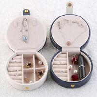 Mini Travel Jewelry Organizer Box Holder Storage Earring Ring Portable Case  LL