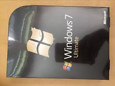 Microsoft Windows 7 Ultimate Full Version 32-bit/x64 english row DVD+KEY